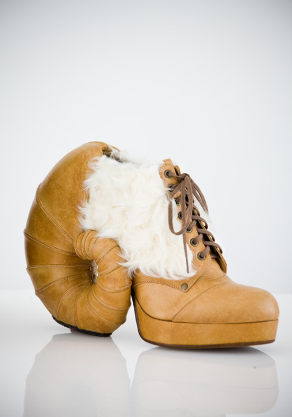 Masaya Kushino : Les chaussures animalières