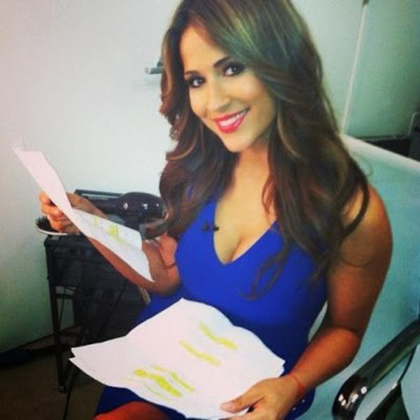 Jackie Guerrido sexy présentatrice météo