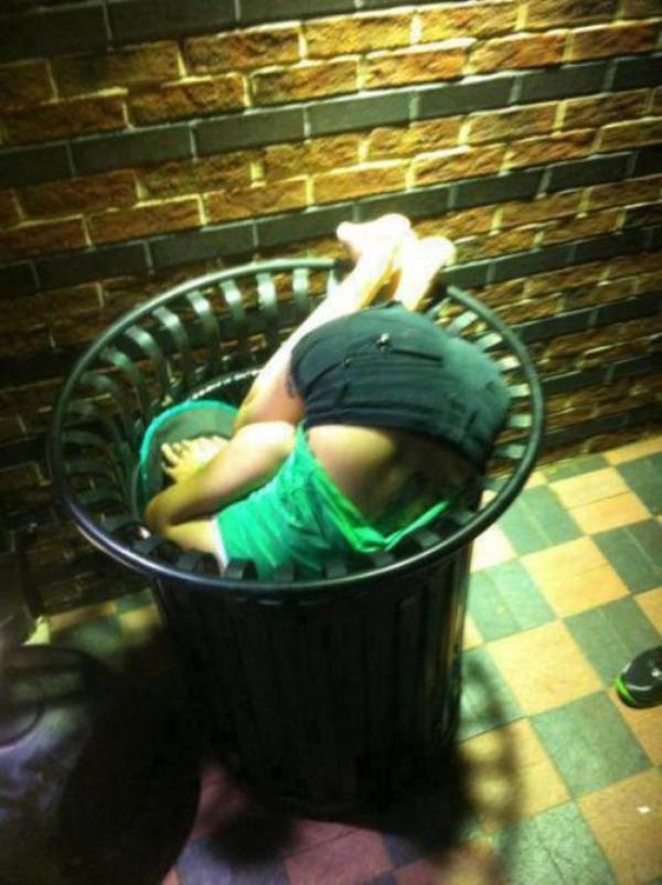 Les pires photos de soirées