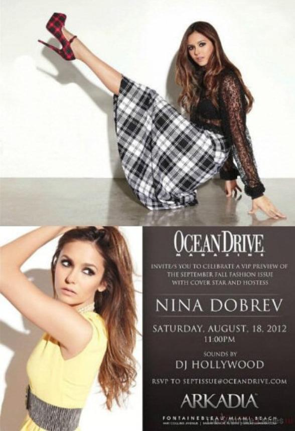 Nina Ocean Drive magazine