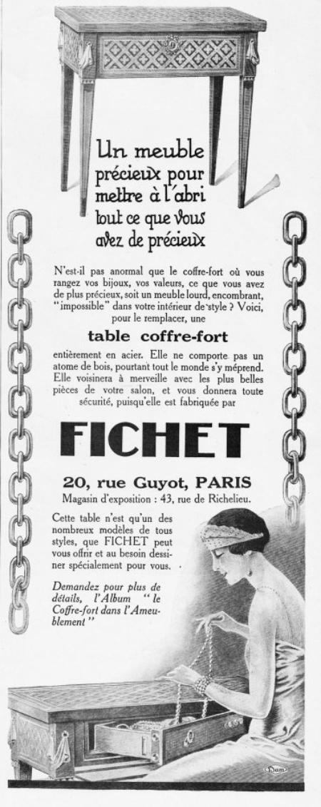 🛋  Mobilier 🛋 Fichet 🛋