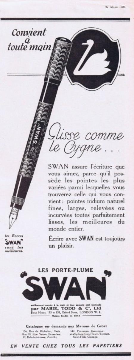 🖋 Ecriture 🖋 Swan 🖋