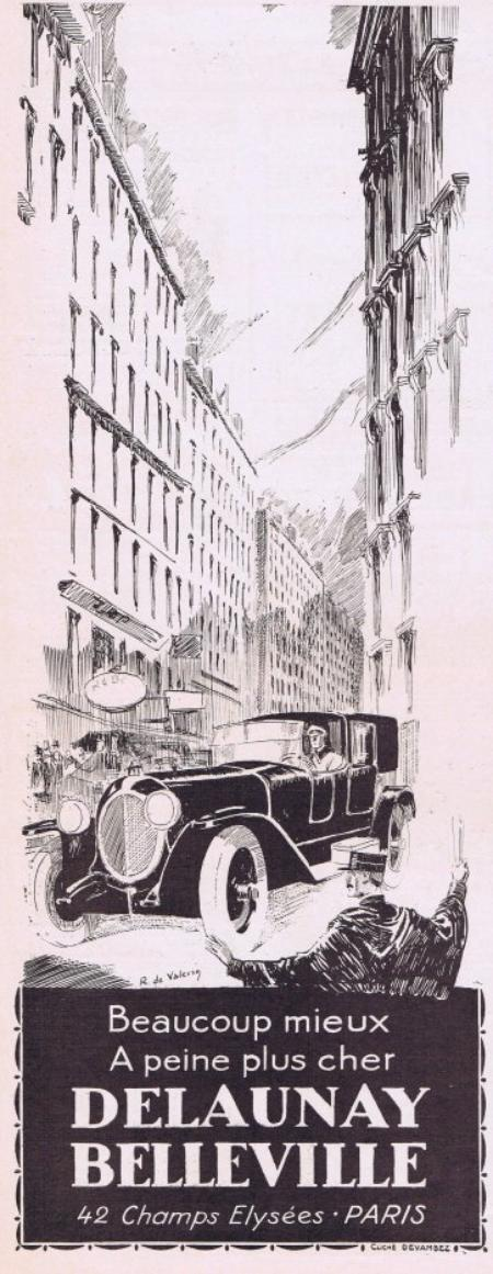 🚗 Automobile  🚗  Delaunay Belleville  🚗