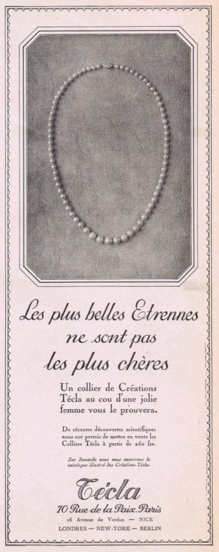 💍  Les bijoux  💍  Técla   💍