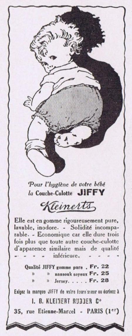 👶 Bébé 👶 la couche-culotte Jiffy 👶