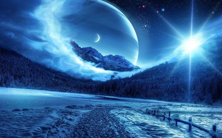 Univers enneigé