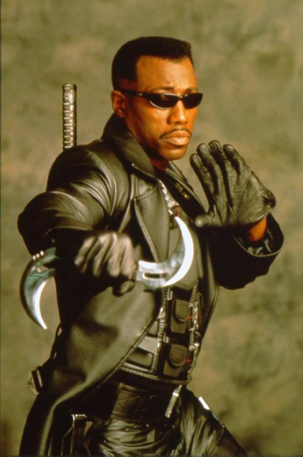 Wesley Snipes pour un blade 4