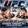Prochain événement de l'UFC