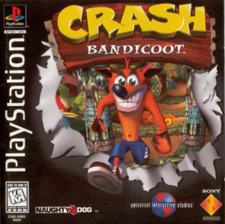 Crash Bandicoot - 1996