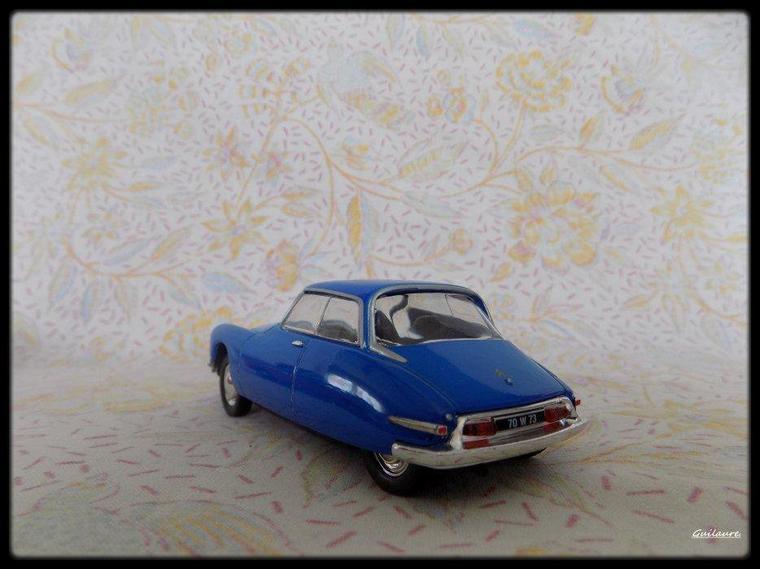 """Citroen DS 19 """"coupé Ricou1959""""."""