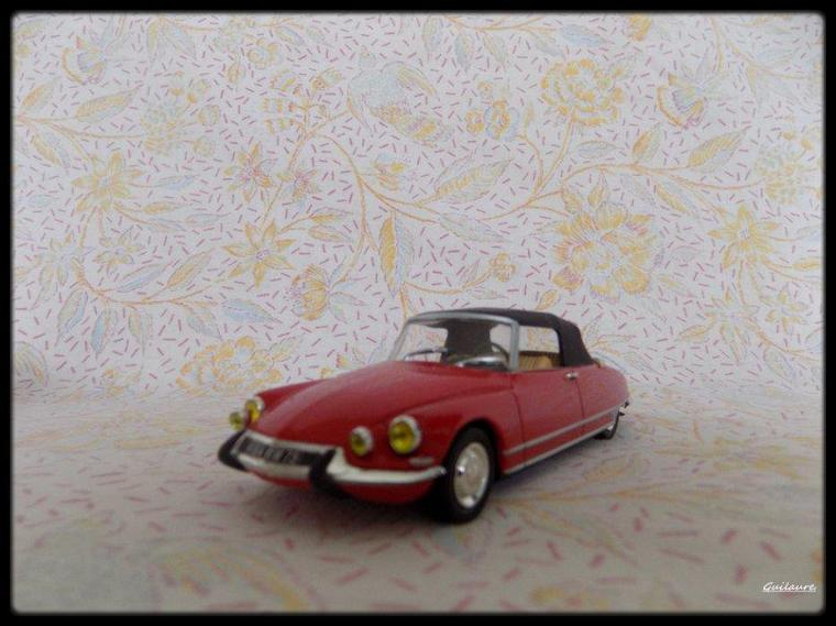 "Citroen DS 19 ""Cabriolet H Chapron Le Caddy 1963""."