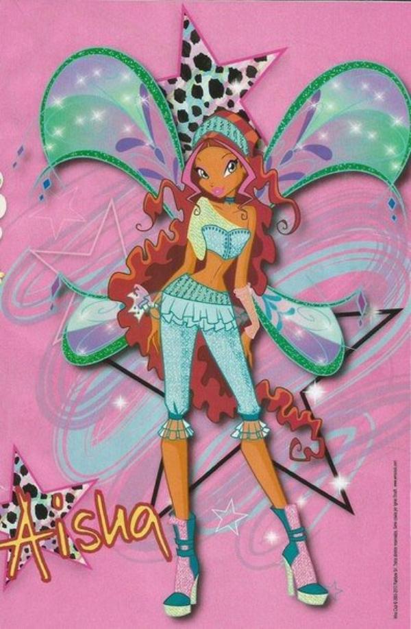 winx saison 4 posters brésilien