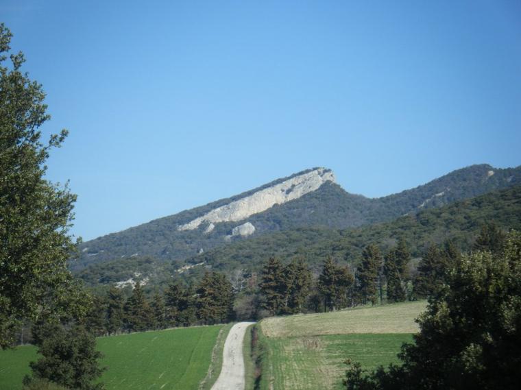 le col du pègue (502 mètres)