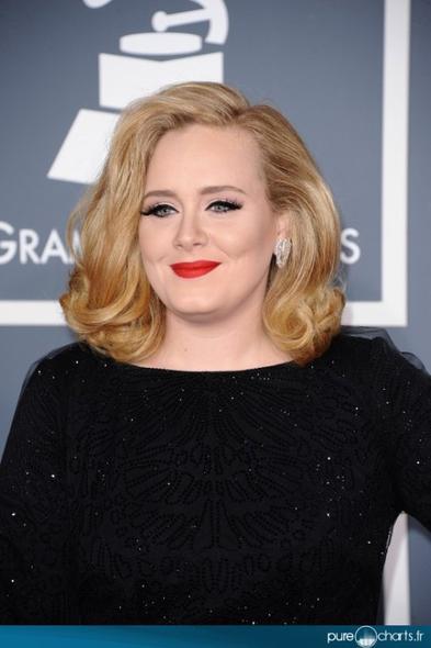 Adele aux Grammy Awards 2012 !
