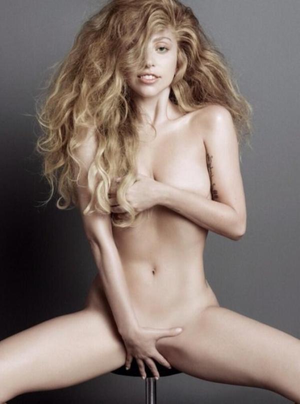 """Lady Gaga: Découvrez la nue et sans maquillage pour """" V Magazine"""""""