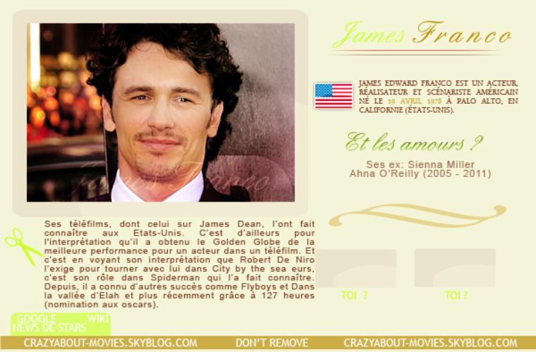 Acteurs - James Franco
