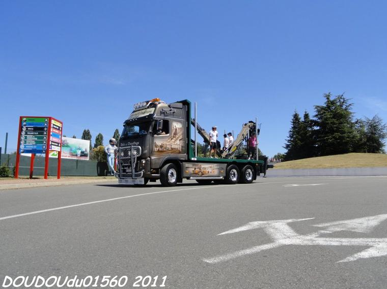 volvo fh16 700 chamot st phane magny cours 2011 trucks spirit. Black Bedroom Furniture Sets. Home Design Ideas