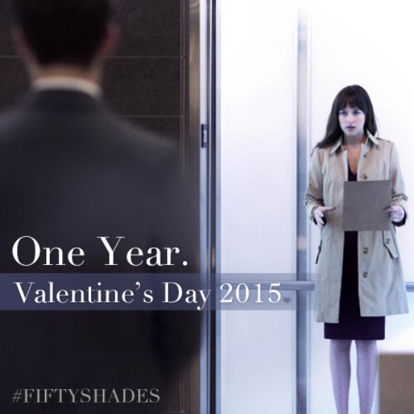 Pour fêter la Saint-Valentin et les 1 an avant la sortie du film voici le premier still de FSOG.