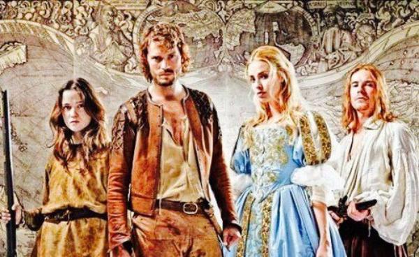 """Jamie était à la Press Screening de sa mini-série """"New Wolrds"""" qui sera diffusée au mois de Mars en Angleterre sur Channel 4."""