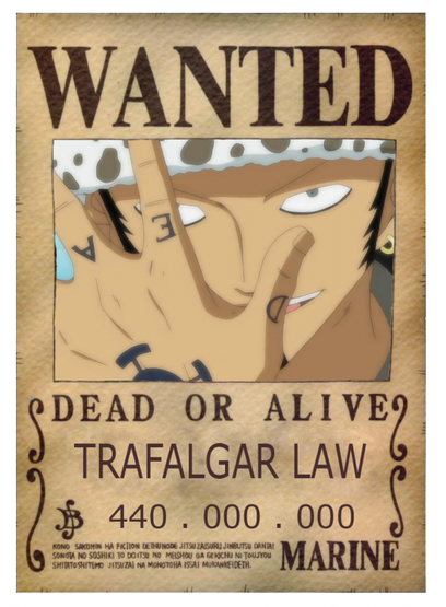 Trafalgar Law ! <3 <3