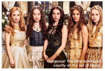 Behind The Scenes de Narnia + Old Apparences + Photoshoot