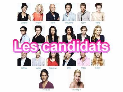Candidats.