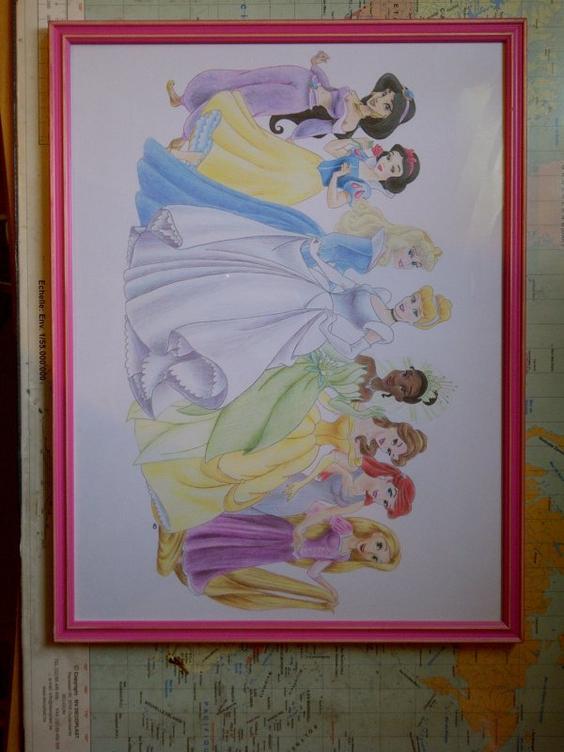 Princesses Disney pour Mathilde