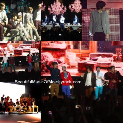 Le 19 Décembre 2011 : Les One Direction était à leur concert à Southend.