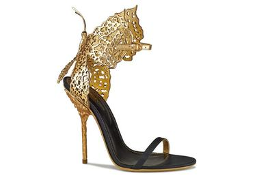 Les sandales papillons de Sergio Rossi en hommage à Gabriella Crespi