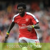 L'international Togolais d'Arsenal Emmanuel Adebayor absent trois semaines