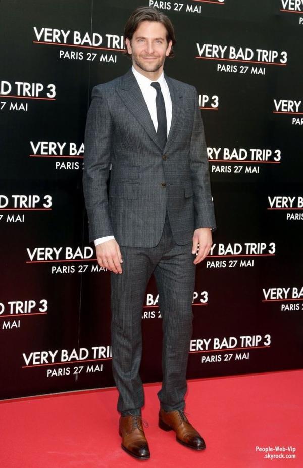 Les acteurs de Very Bad Trip Bradley Cooper, Ed Helms, Zach Galifianakis, Justin Bartha, Ken Jeong  sur la tapis rouge lors de la première parisienne de leurs film !  ( au cinéma UGC le lundi (27 mai) à Paris, France.)