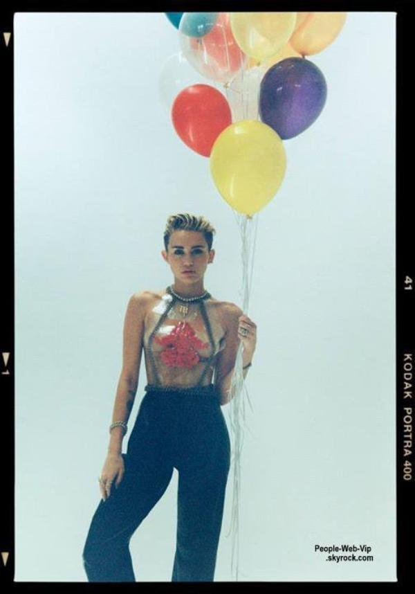 """Miley Cyrus Découvrez son Photoshoot pour son album """" Bangerz  """"  Qu'en pensez vous ?"""
