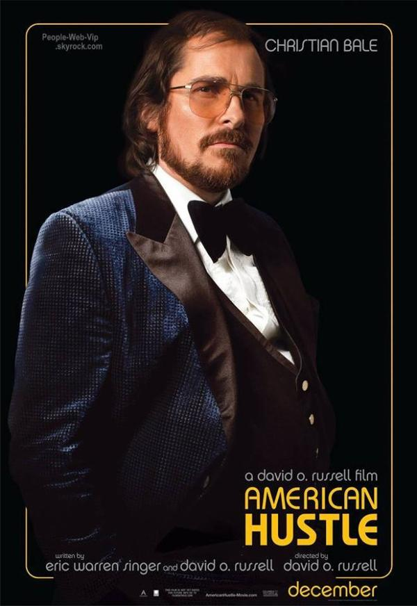 """Bradley Cooper, Jennifer Lawrence et Christian Bale Découvrez la bande annonce de leur prochain film """" American Hustle """"  QU'EN PENSEZ VOUS ?"""