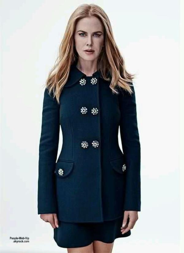 """Nicole Kidman est en couverture du magazine """"Net-A-Porter's The Edit """" Qu'en pensez vous ?"""