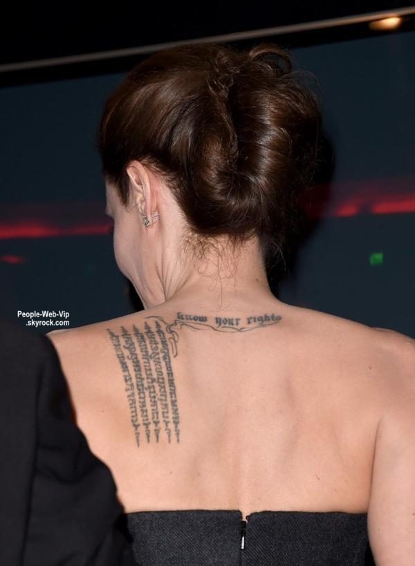 """""""Hollywood Film Awards 2014"""" Angelina Jolie, Queen Latifah, Robert Downey Jr., Robert Duvall, Channing Tatum et sa femme Jenna Dewan-Tatum et enfin Robert Pattinson sur le tapis rouge lors de la cérémonie. (vendredi (14 Novembre) au Palladium de Hollywood.)"""