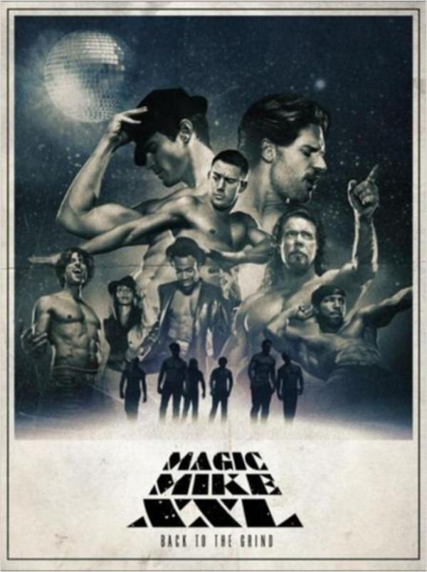 """ Magic Mike XXL ""  Date de sortie : 8 juillet 2015// Avec Channing Tatum, Matt Bomer, Joe Manganiello"