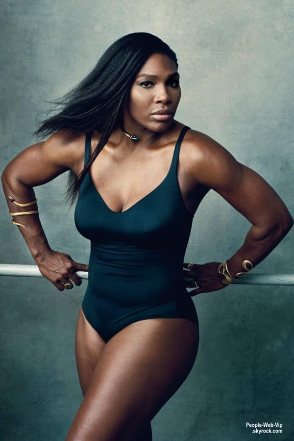 """Photos: Serena Williams par Norman Jean Roy pour le magazine """"New York """""""