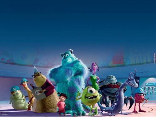 Monstres et cie tout sur les films s ries dramas - Dessin de monstre et compagnie ...