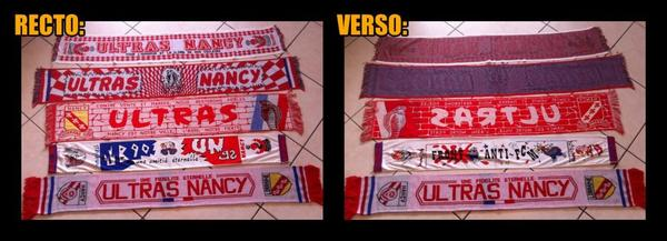 Echarpes Ultras Nancy