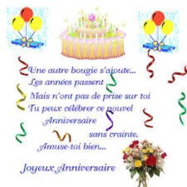 Joyeux Anniversaire Mon Cher Ami Bader Poésies Et Citations
