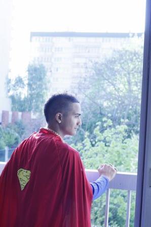 __ Superman est arrivé __