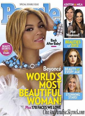 Beyoncé, élue plus belle femme du monde !