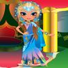 une fille hindou