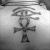 La croix Ankh - Maniac tattoo, 25, rue de Pontoise, Saint Germain en Laye