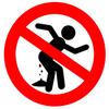 interdit au mangeux de marde