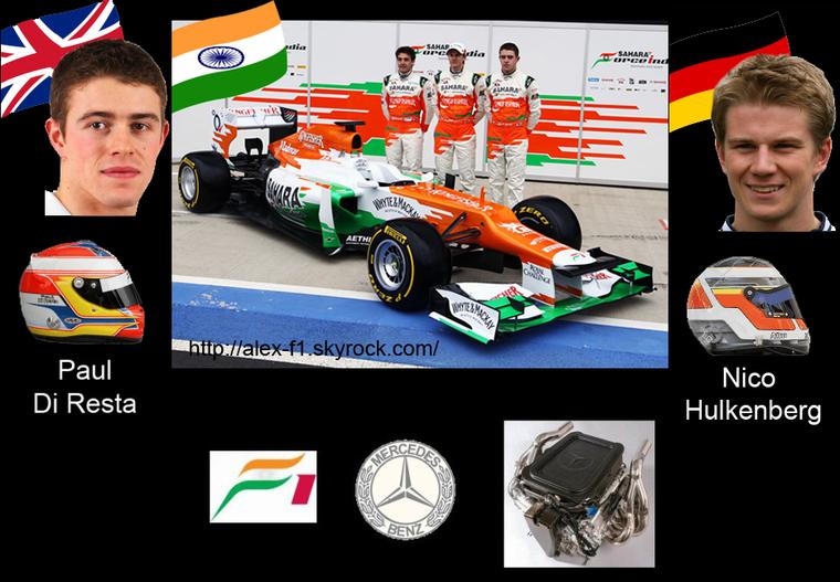 > 6] Sahara Force India VJM05 Mercedes Benez FO 108Y