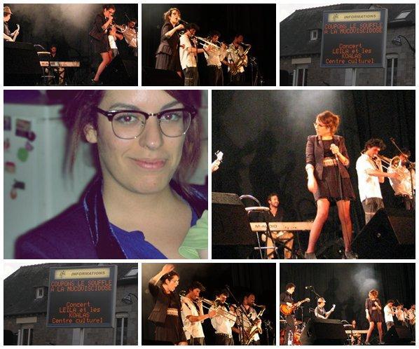 [21/07/11] Photos du concert à Liffré contre la Mucoviscidose < Facebook | Youtube | Myspace | Twitter Fans | Noomiz | Forum >