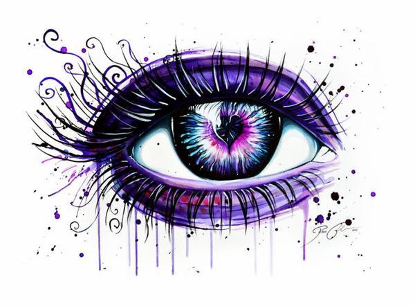 Dessin D Un Oeil Blog De Xtrashxvampirx