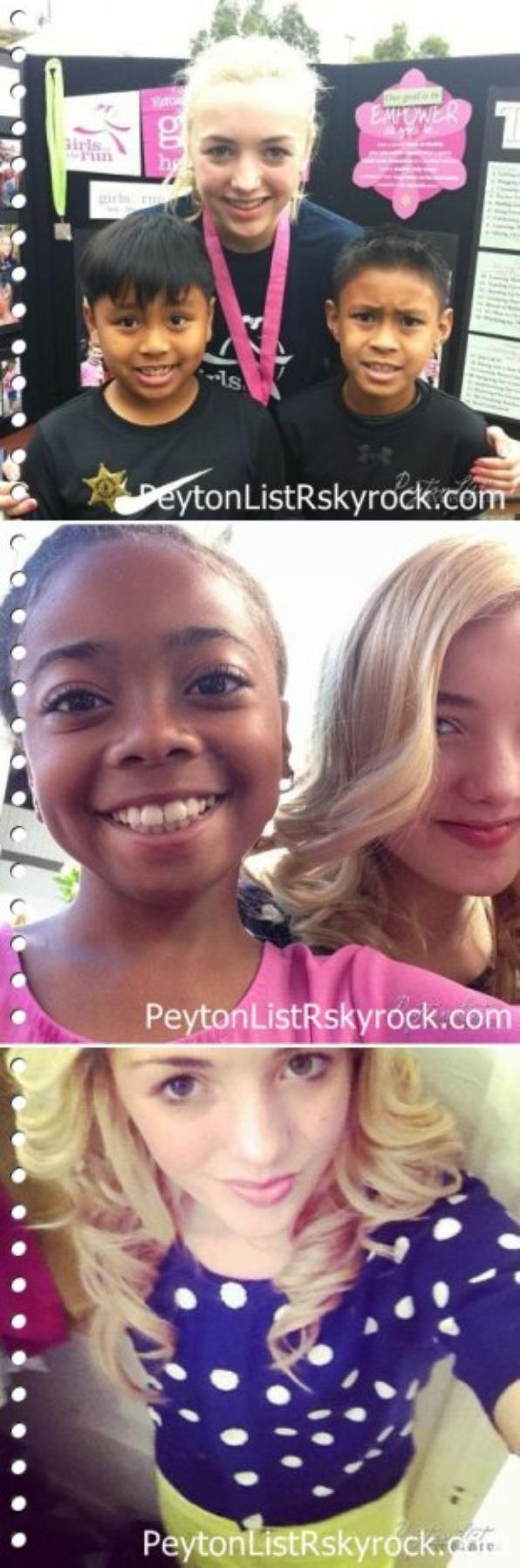 20/01/13 : Peyton est allée à l'anniversaire de Avery