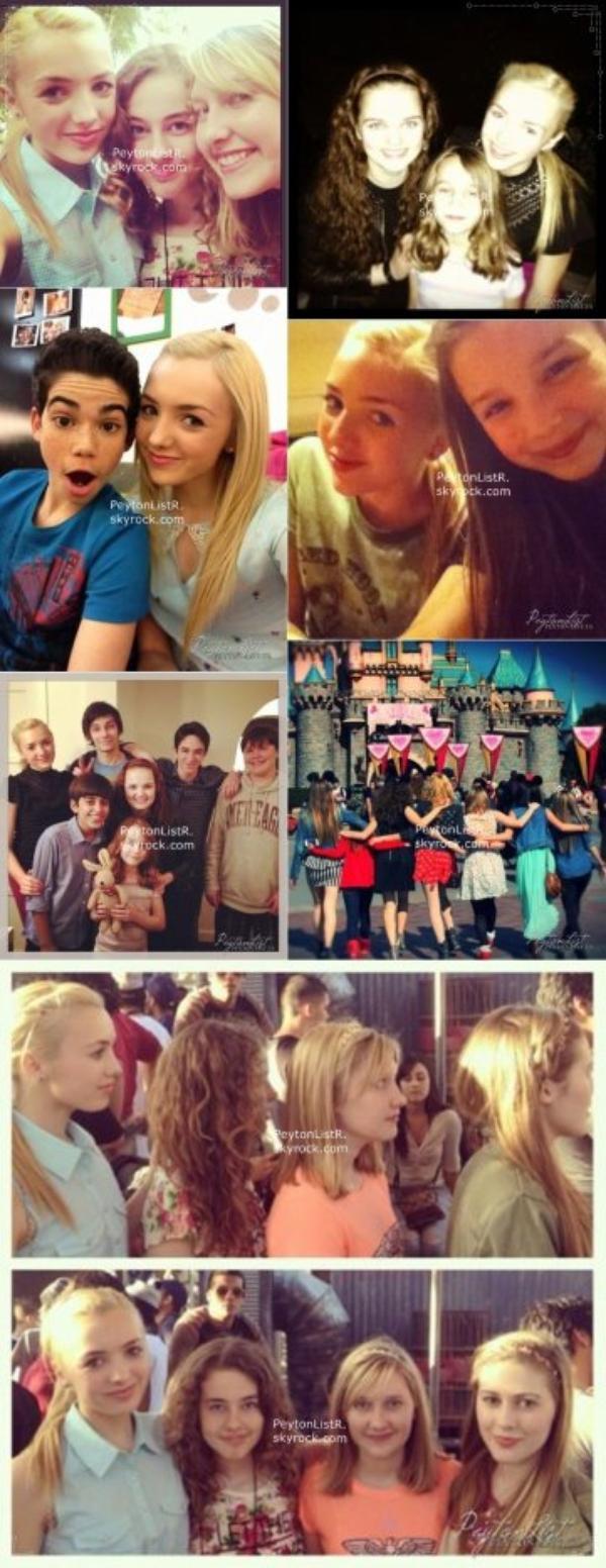 Nouvelles photo de Peyton avec ses amis et ses fans